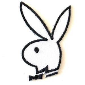 Accessories - Playboy Bunny Patch iron on DIY rabbit animal cute